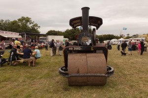 Lord Kitchener at the 2014 Chickerell Steam and Vintage Show