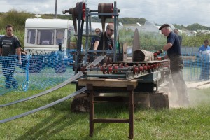 Saw Bench at the Chickerell Steam Rally 2014